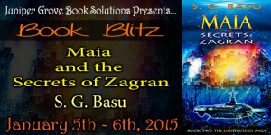 Maia Secrets of Zagran Banner