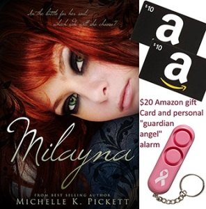 Milayna Giveaway