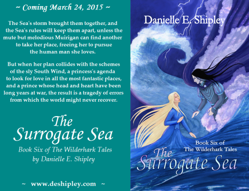 Surrogate Sea, Cover Reveal Promo