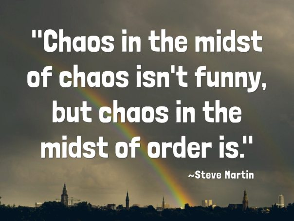Chaos can be organized