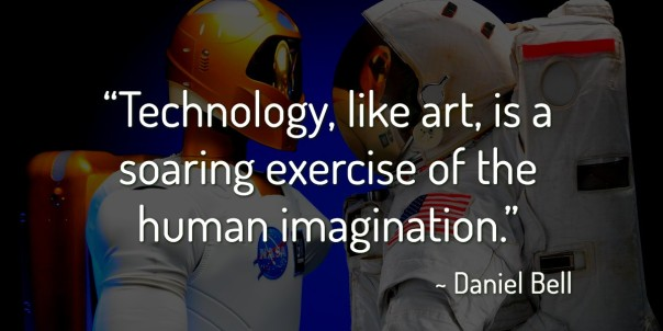 Technology is like human imagination