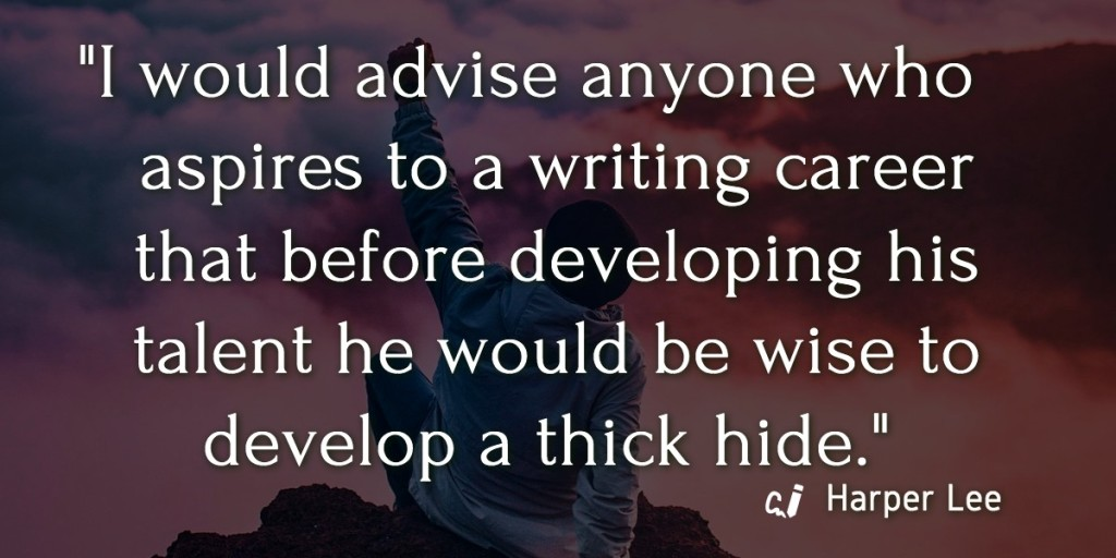 Harper Lee Quote on Writing