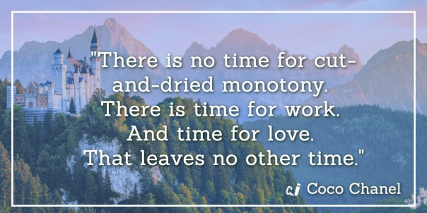 Quote about work and love